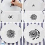 Porzellan Keramik Bemalen Anleitung Und Schone Ideen Talu De