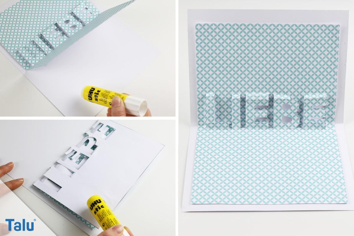 Diy Karten Selbst Gestalten Bastelidee Karten Basteln Mit