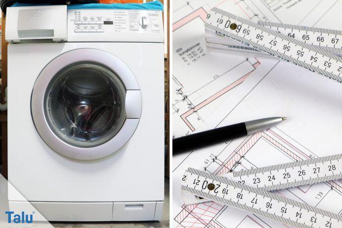 Standard Waschmaschinen Masse Alle Grossen In Der Ubersicht Talu De