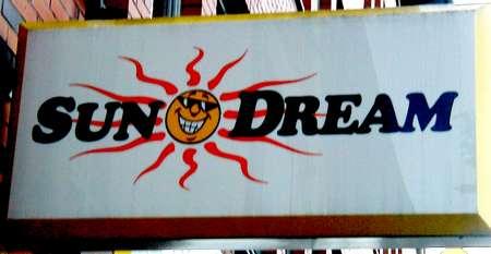 Reklameschild: Sun Dream