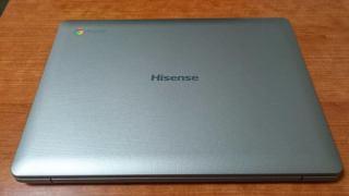 Hisense Chromebook C12到着