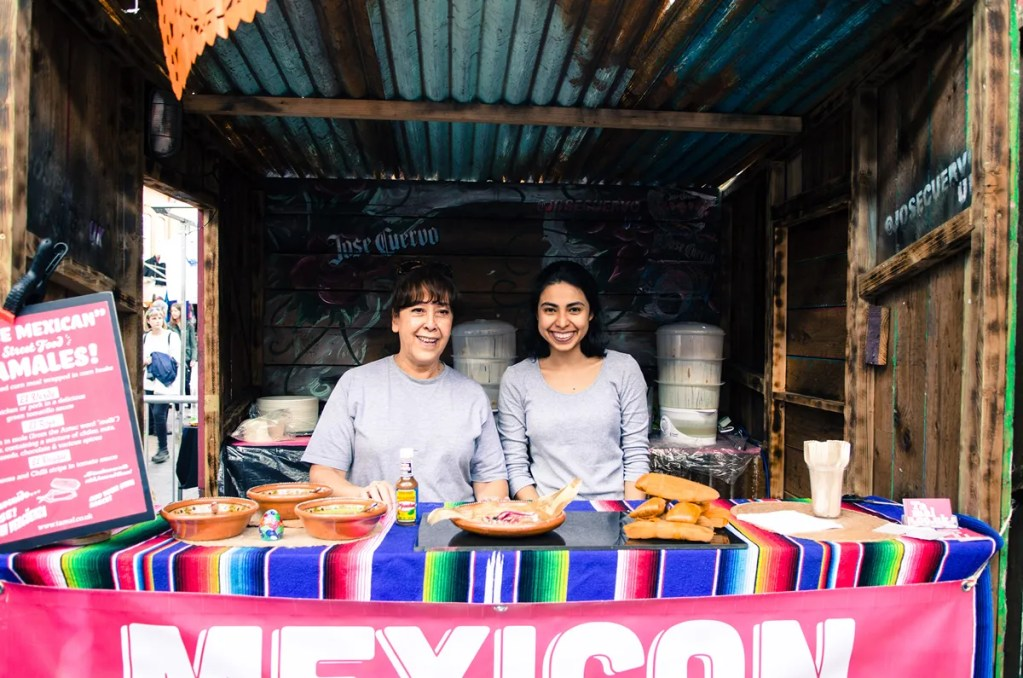 best mexican tamales and tacos london