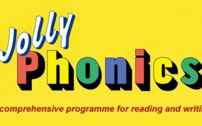 Making ABCs fun with Jolly Phonics