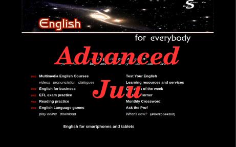 English Learning Course Advanced | Tamani Foundation