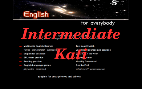 English Learning Course Intermediate