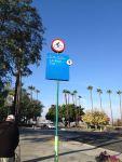 LA River Bike Trail Sign