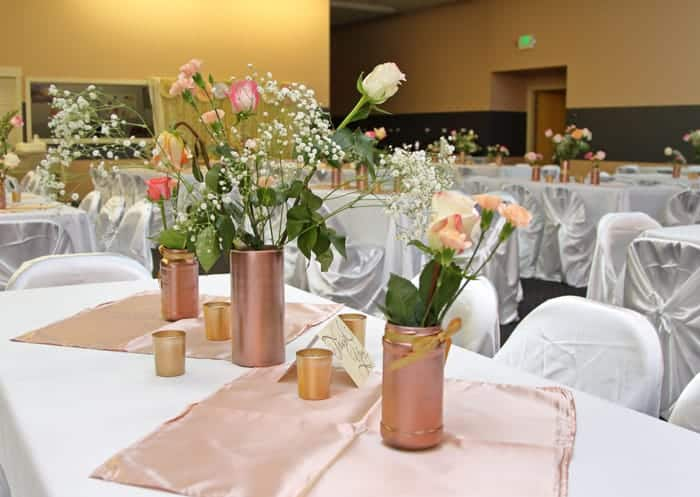 reception tables wedding pictures must have