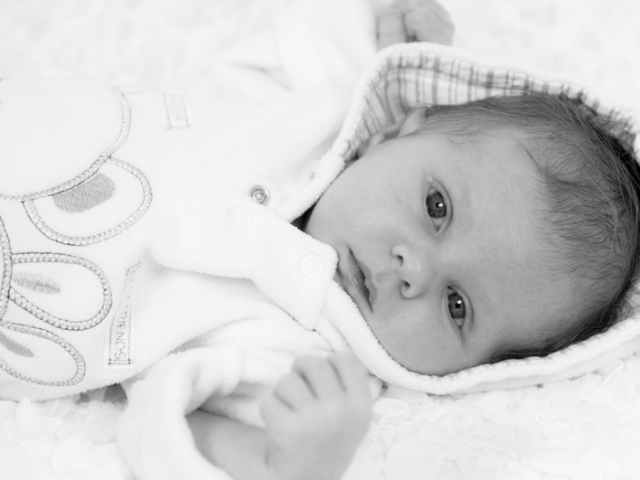 Newborn fotoshoot fleece pakje