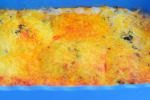 An easy delicious fish bake cooked in a creamy sauce with loads of cheese