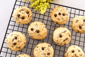 Egg-Free Choc-Chip Cookies