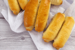 Soft, fluffy and delicious hotdog rolls