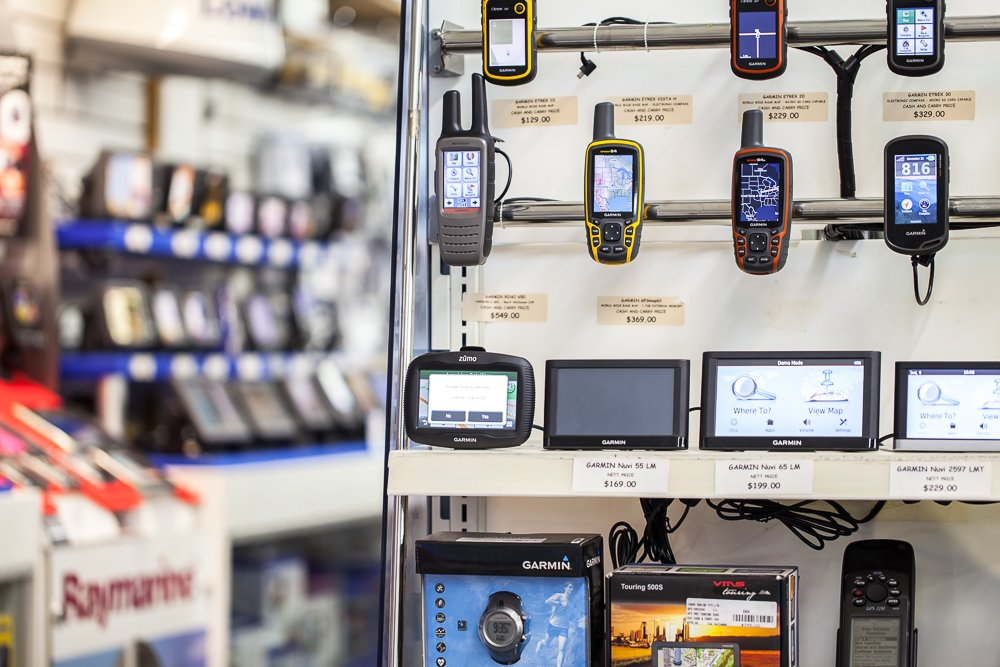 GPS's – Garmin Handheld GPS units