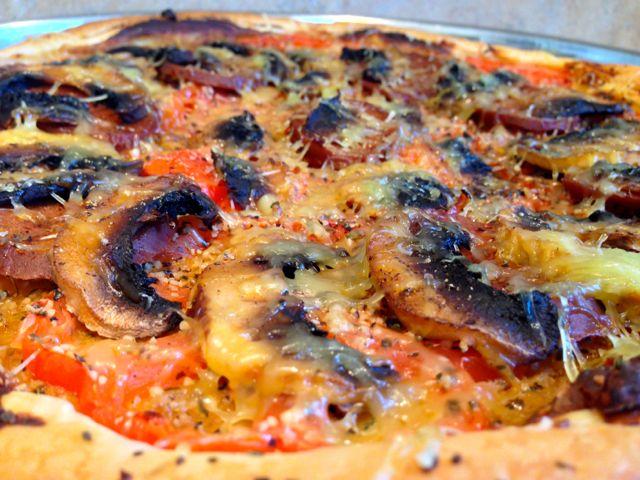Tarte feuilletée au Chorizo végétal et aux Champignons