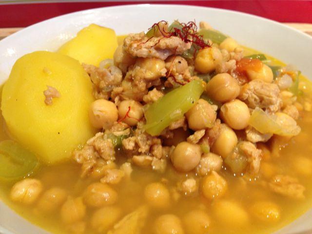 ragoût végétal à l'espagnole