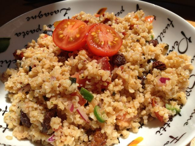 La Salade De Boulgour de Tambouille