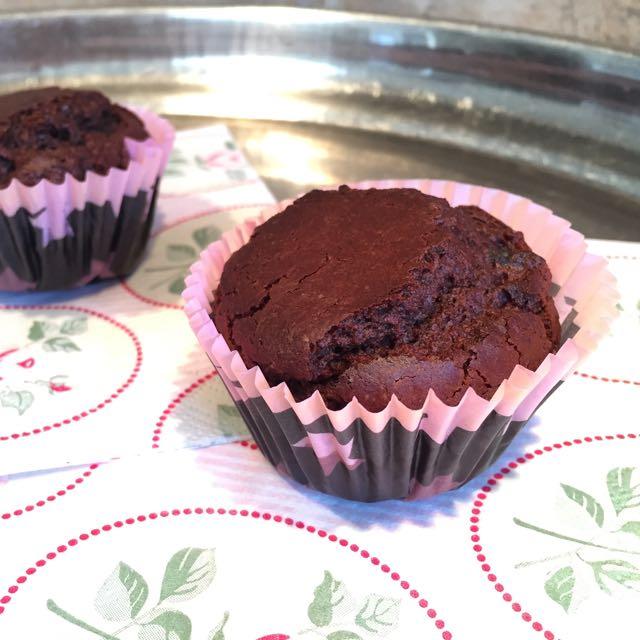 muffins chocolat vegan et dans gluten