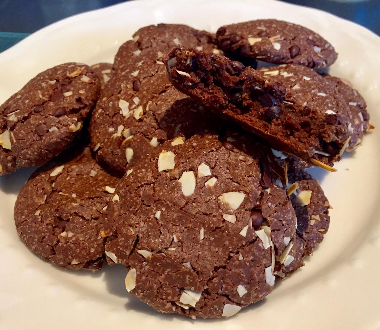 Cookies chocolat à la farine de Gaude