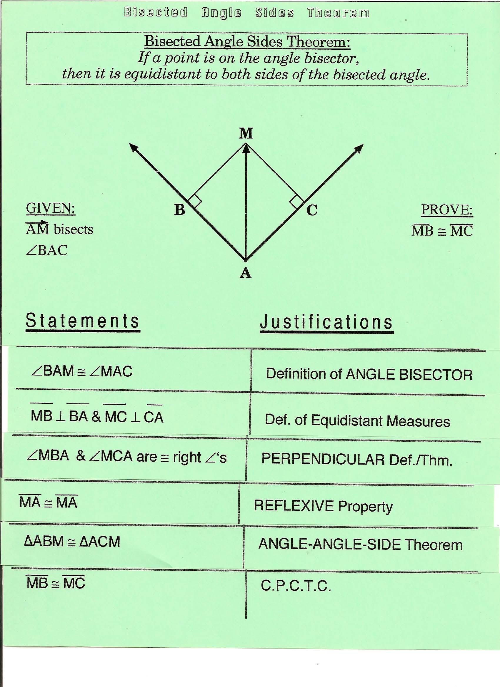 33 Angle Proofs Worksheet With Answers