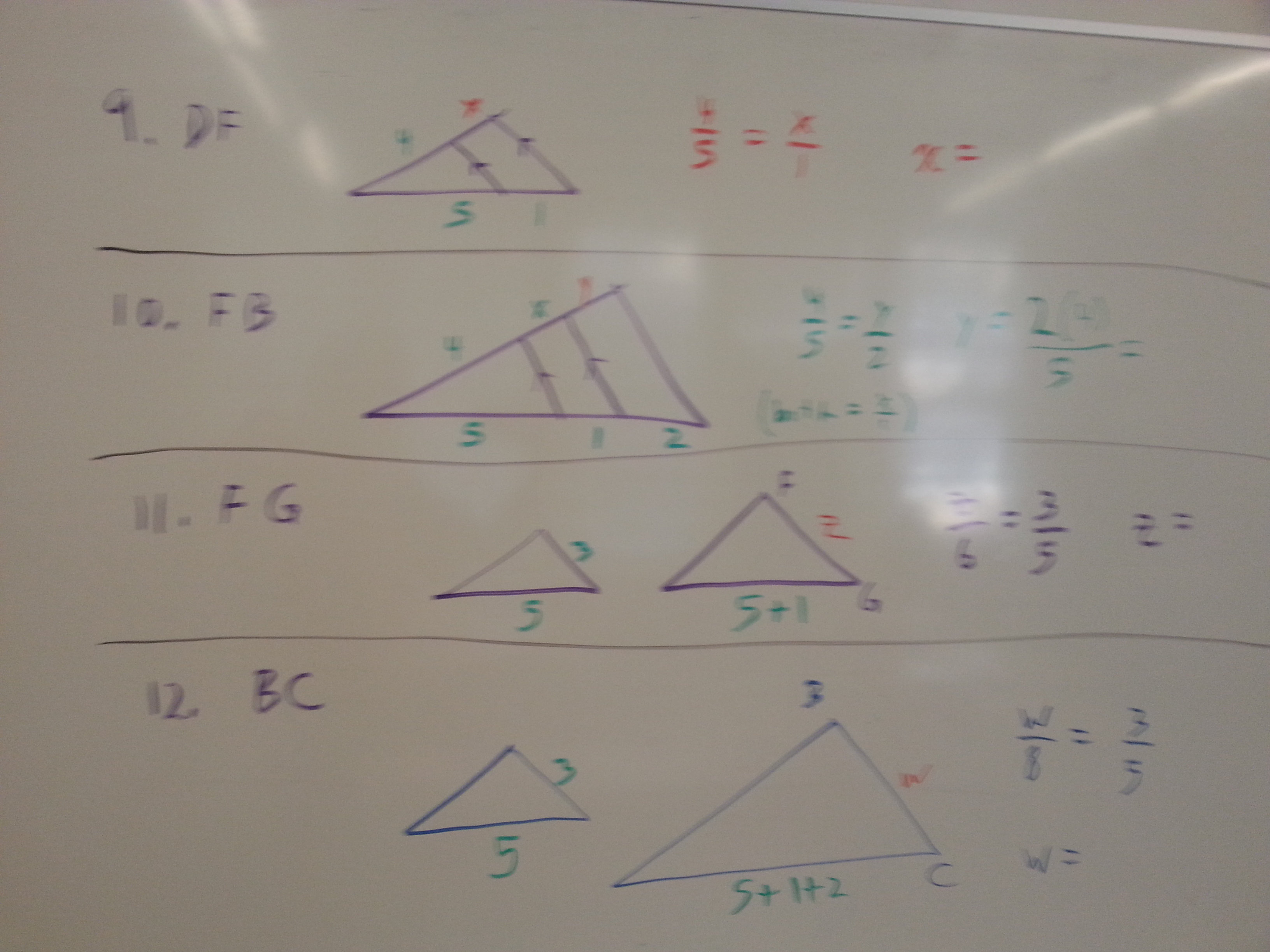 Gebhard Curt Geometry Unit 6 Similarity