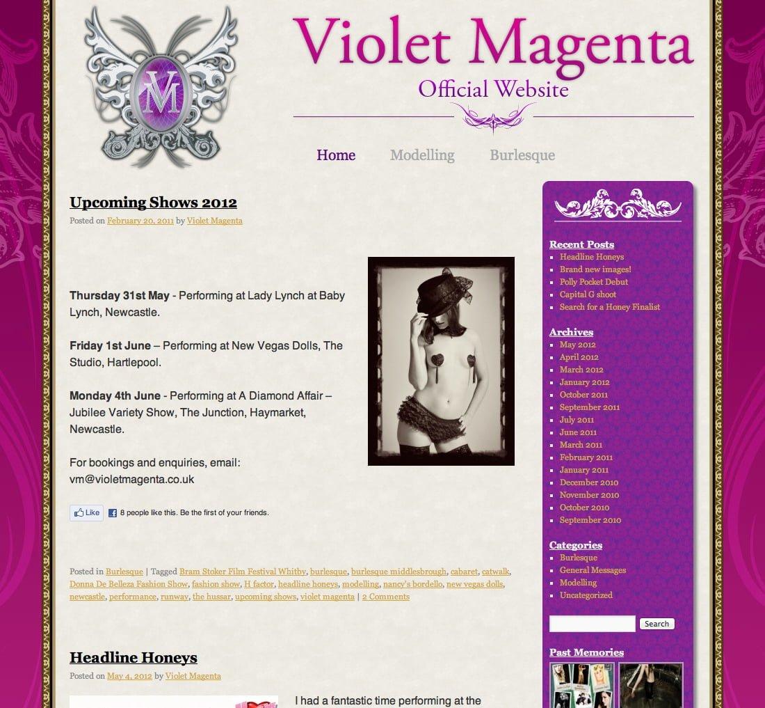 Violet Magenta