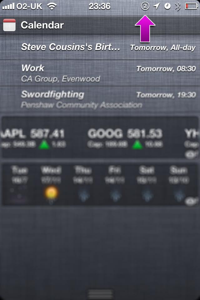 iPhone Notifications 2