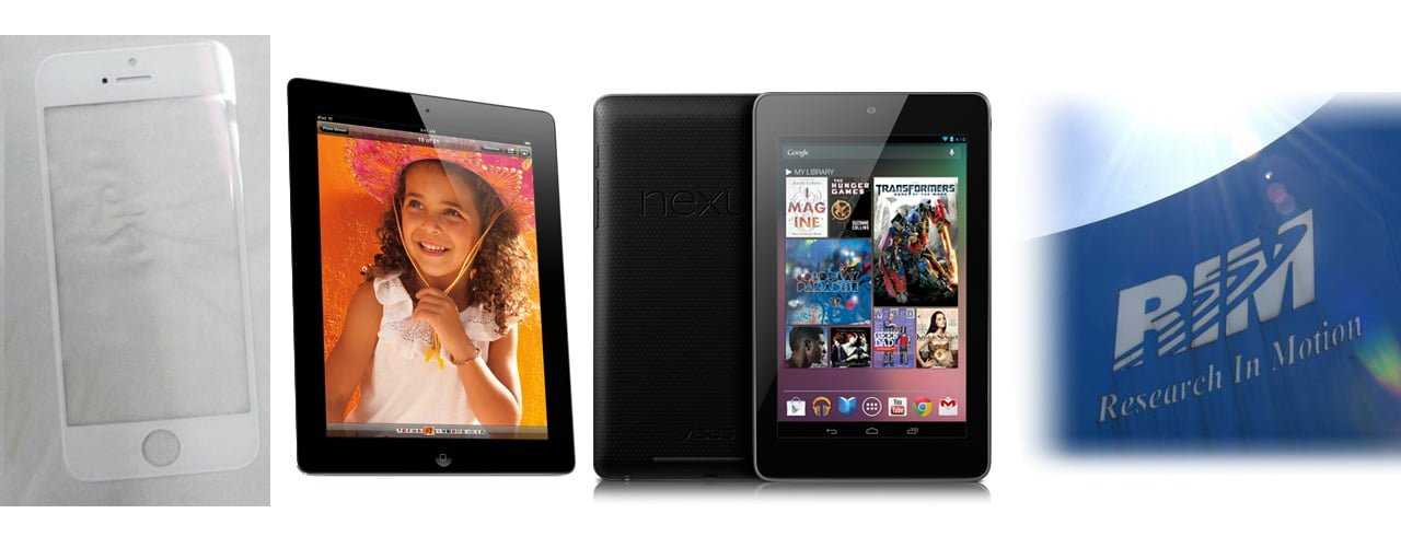 New iPhone, New iPad, Google Nexus 7, RIM