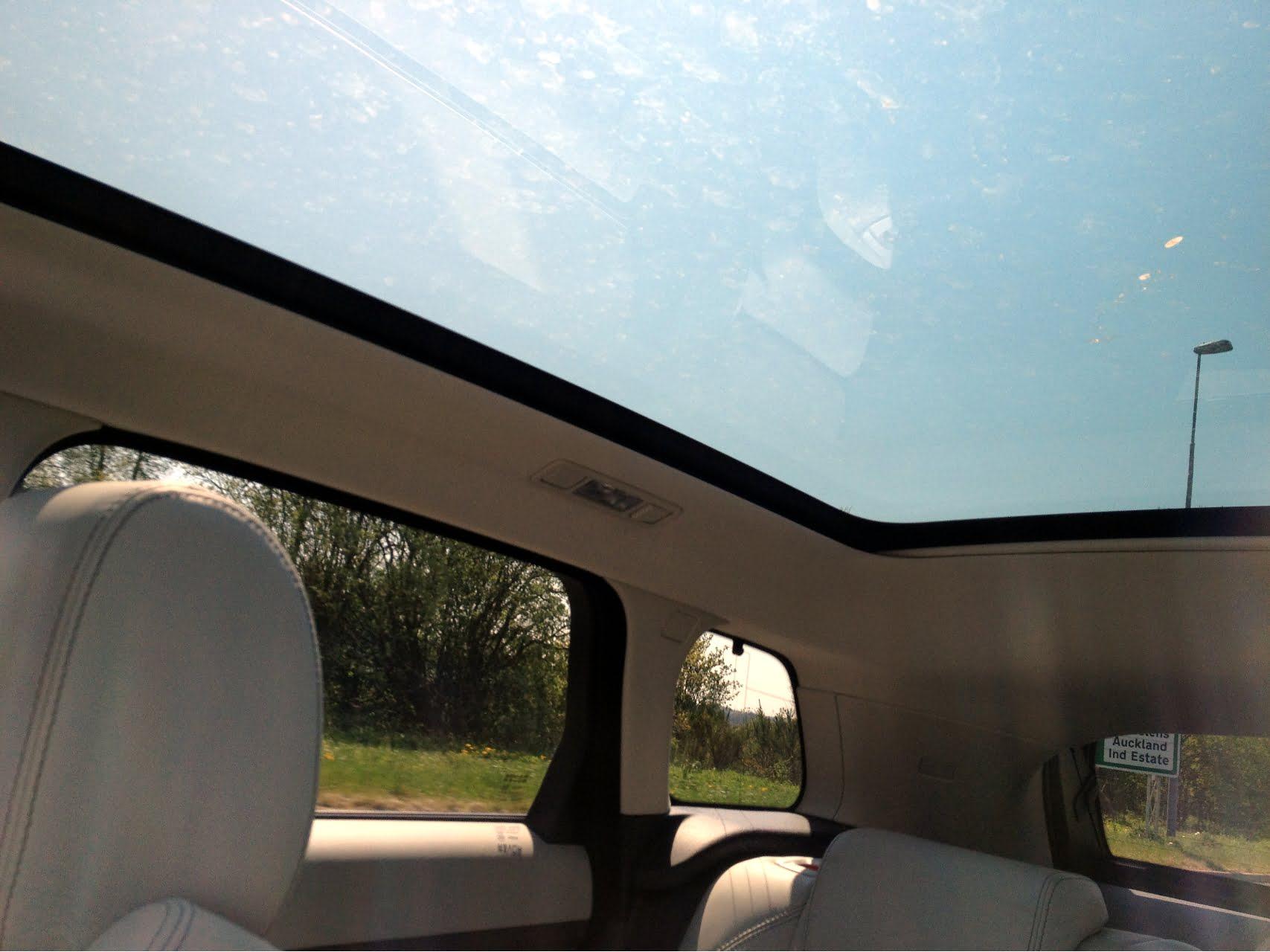 Range Rover Evoque Glass Roof