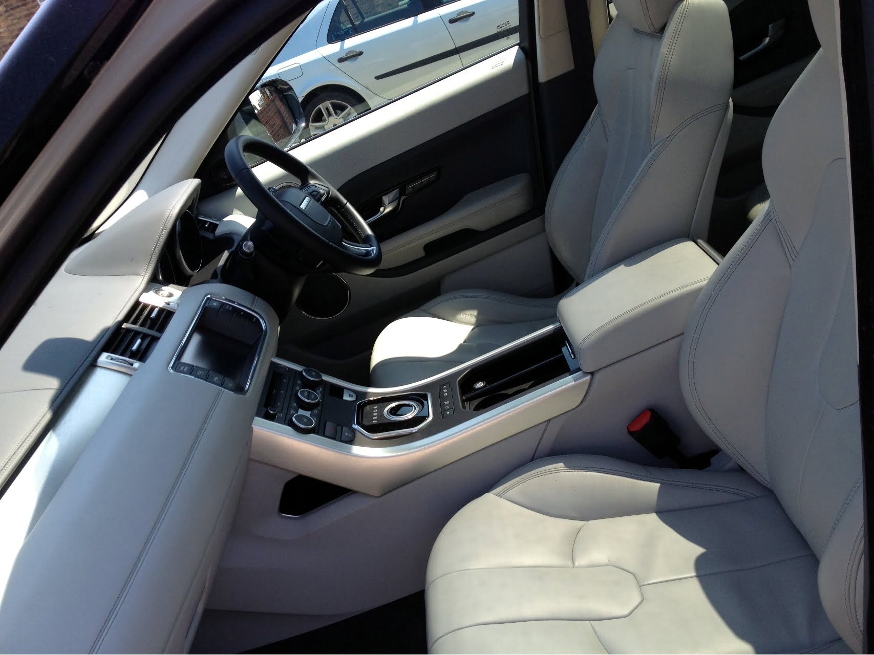 Range Rover Evoque Inside