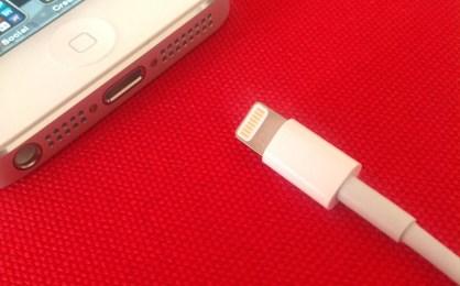 iPhone 5 White Lighting