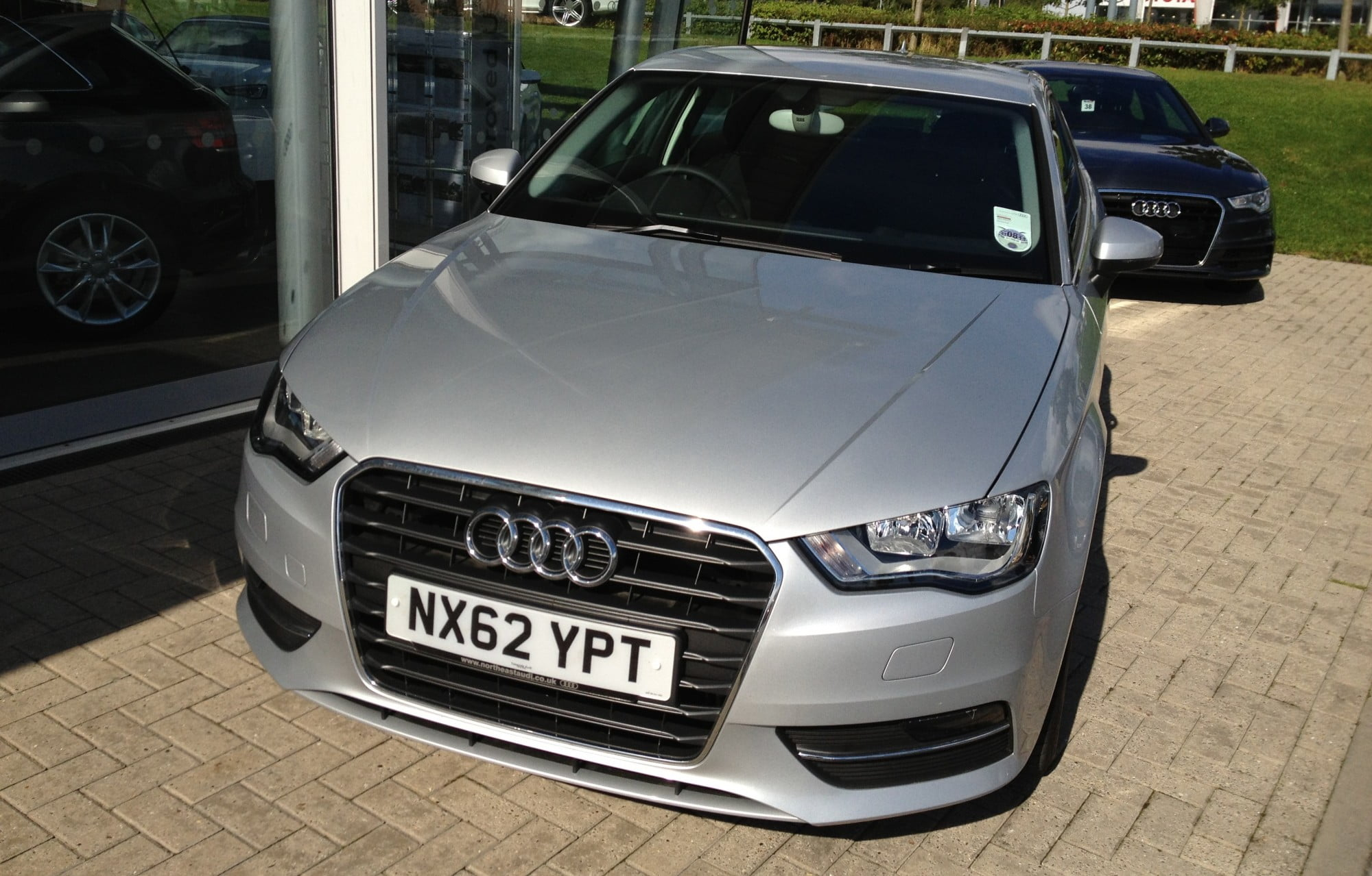 The New Audi A3 - Front