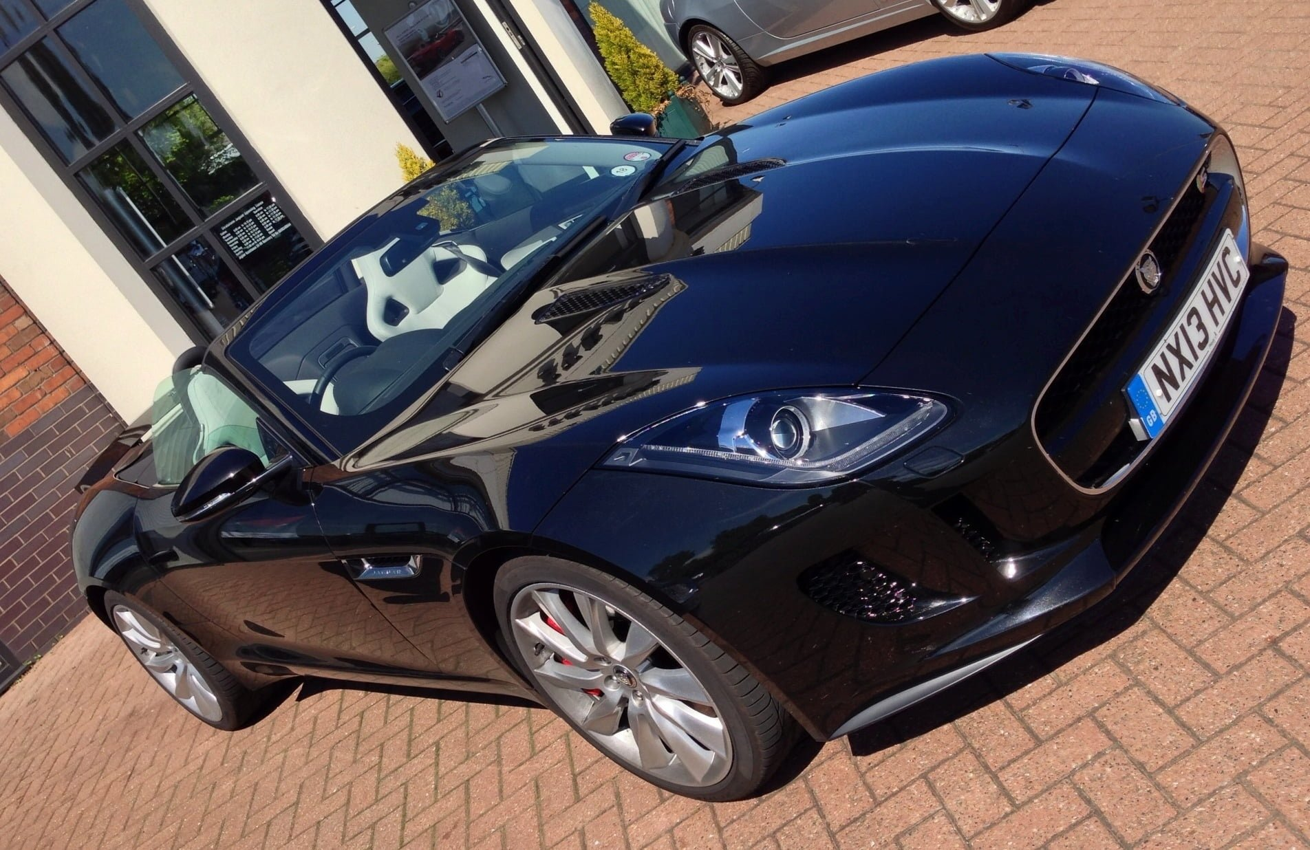 Jaguar F-Type, 3.0L V6 Supercharged, Black, Front