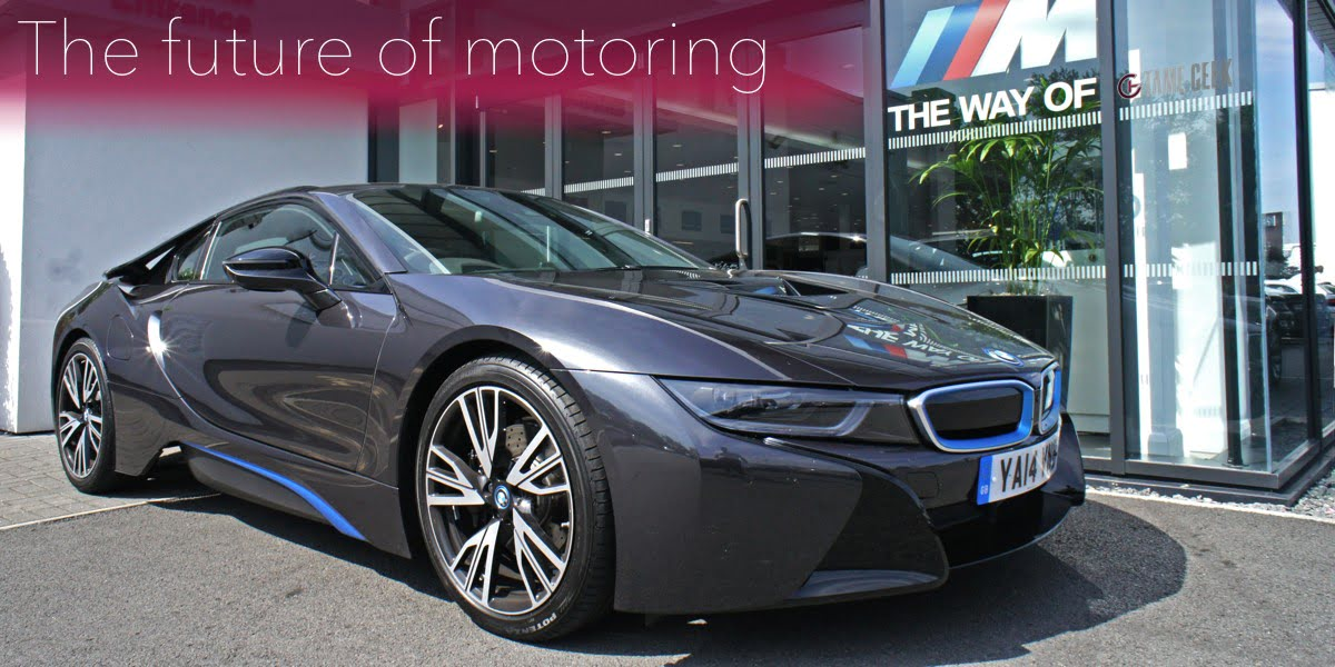 BMW i8 Review and First Drive