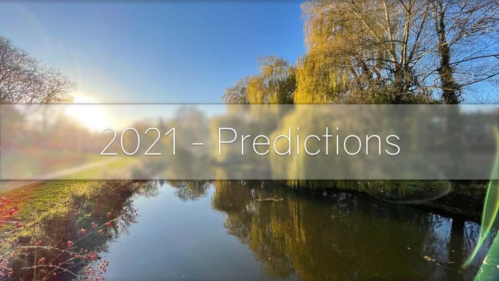 2021 - predictions header