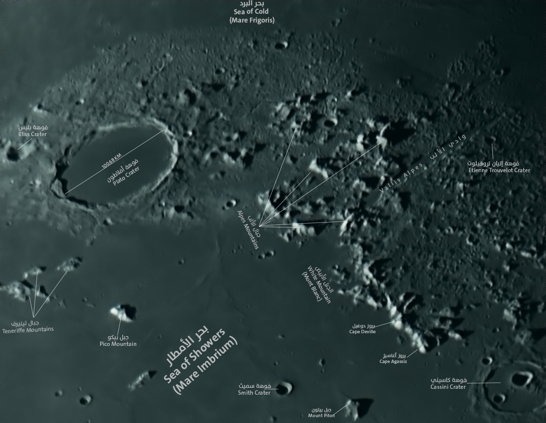 Plato (crater) - فوهة أفلاطون