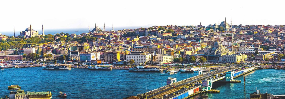istanbul - Panorama Wide Golden Horn
