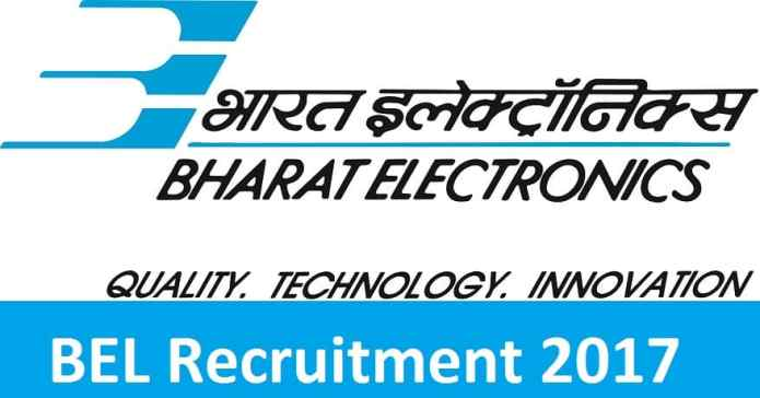 Bharat Electronics Limited (BEL) Recruitment 2017, Apply Online 16 Senior Assistant Engineer Posts