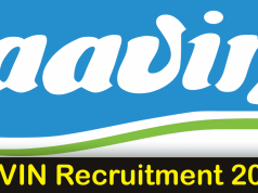 AAVIN Recruitment 2019