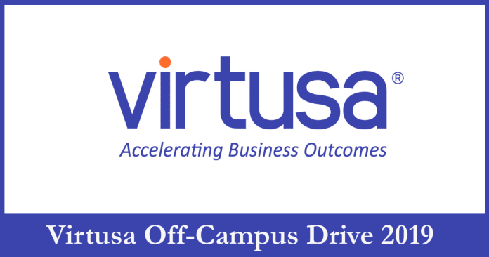 Virtusa Off-Campus Drive 2019