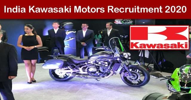 India Kawasaki Motors Recruitment 2020