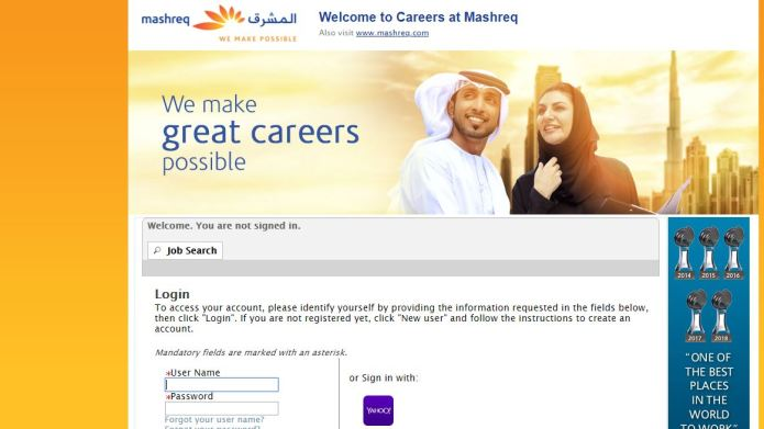 Mashreq Bank Recruitment 2020 – Apply 2000+ Fresher job Openings