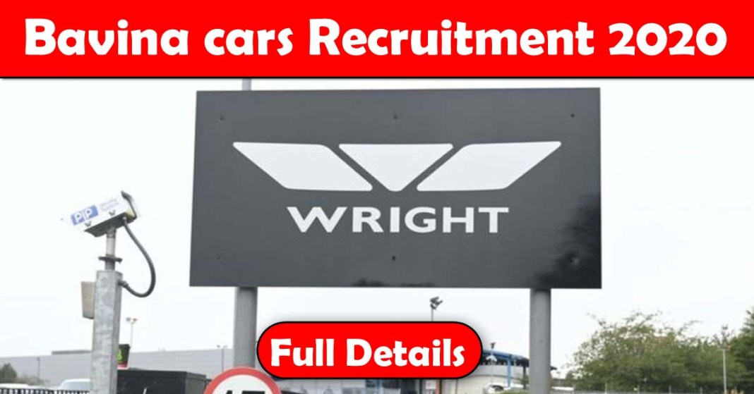Bavina cars Recruitment