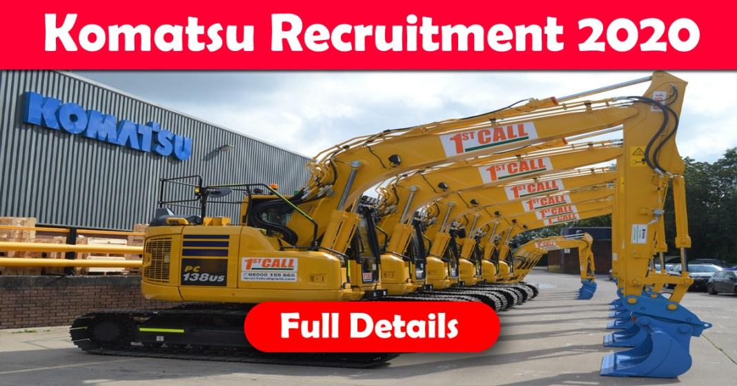 Komatsu recruitment