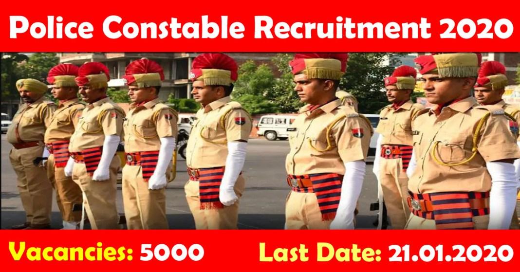 Police Recruitment 2019