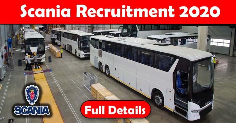Scania Recruitment 2020: 100+ Fresher & experienced Job Openings