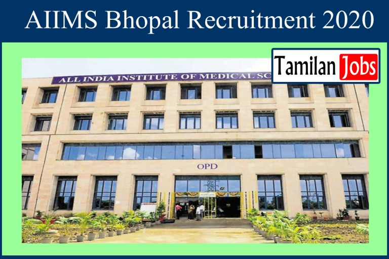 AIIMS Bhopal Recruitment 2020 Out – Assistant Professor Jobs