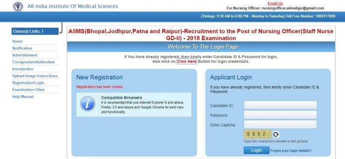 AIIMS Nursing Officer Admit Card 2020 Released | Download Here