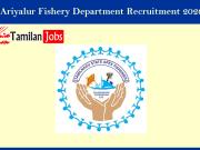 Ariyalur Fisheries department recruitment 2020