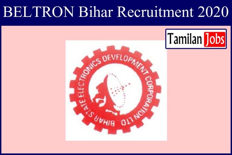 BELTRON Bihar Recruitment 2020 Out – Stenographer Jobs