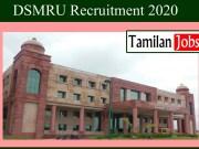 DSMRU Recruitment 2020