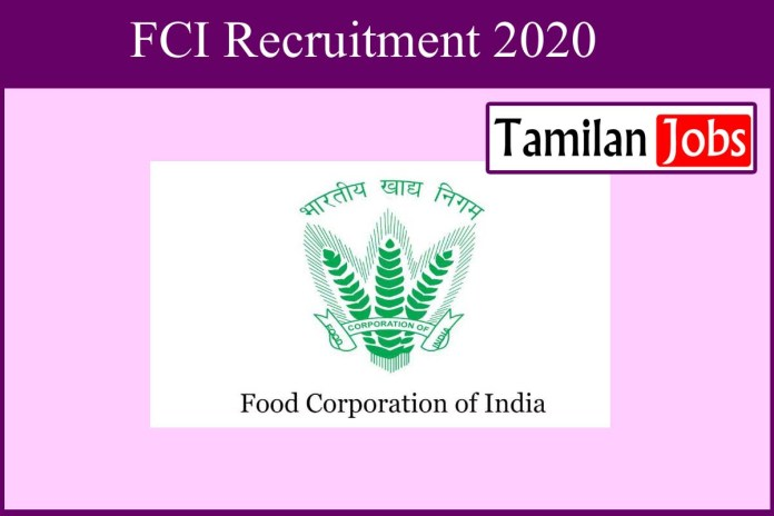 FCI Recruitment 2020 Out – AGM Jobs